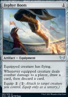 Strixhaven: School of Mages: Zephyr Boots
