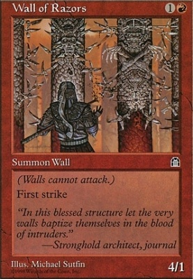 Stronghold: Wall of Razors
