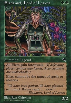 Tempest: Eladamri, Lord of Leaves