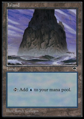 Tempest: Island (C)