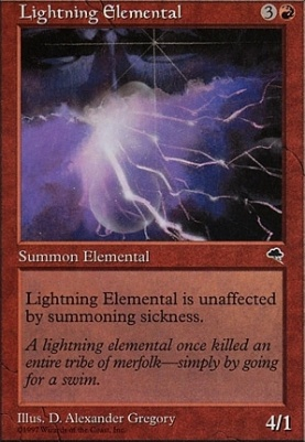 Tempest: Lightning Elemental