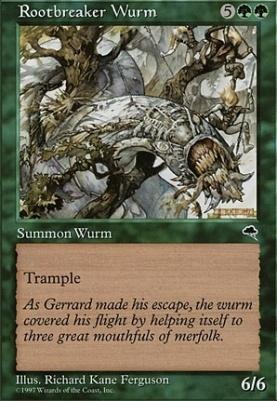 Tempest: Rootbreaker Wurm