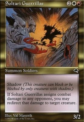 Tempest: Soltari Guerrillas