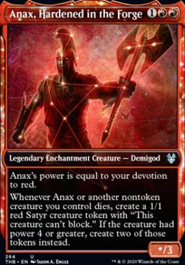Theros Beyond Death Variants: Anax, Hardened in the Forge (Showcase)