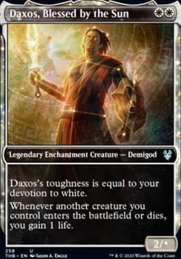 Theros Beyond Death Variants: Daxos, Blessed by the Sun (Showcase)