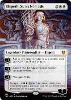 Theros Beyond Death Variants: Elspeth, Sun's Nemesis (Borderless)