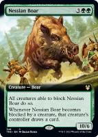 Theros Beyond Death Variants: Nessian Boar (Extended Art)