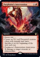 Theros Beyond Death Variants: Purphoros's Intervention (Extended Art)
