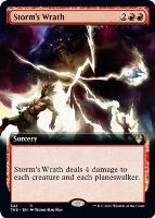 Theros Beyond Death Variants: Storm's Wrath (Extended Art)