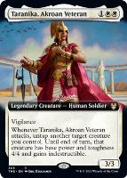 Theros Beyond Death Variants: Taranika, Akroan Veteran (Extended Art)
