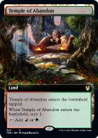 Theros Beyond Death Variants: Temple of Abandon (Extended Art)