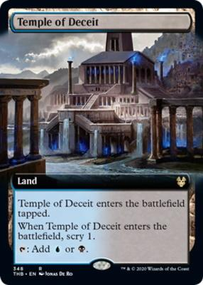 Theros Beyond Death Variants: Temple of Deceit (Extended Art)