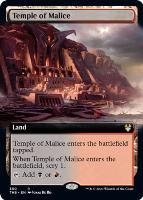 Theros Beyond Death Variants: Temple of Malice (Extended Art)