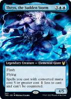 EXTENDED ART Theros Beyond Death THB Magic MTG MINT CARD FOIL SHADOWSPEAR