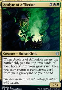 Theros Beyond Death Foil: Acolyte of Affliction