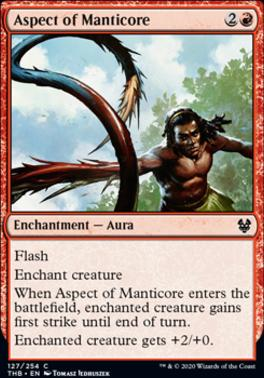 Theros Beyond Death: Aspect of Manticore