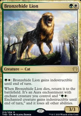 Theros Beyond Death: Bronzehide Lion