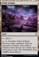 Theros Beyond Death Foil: Field of Ruin