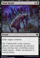 Theros Beyond Death Foil: Final Death