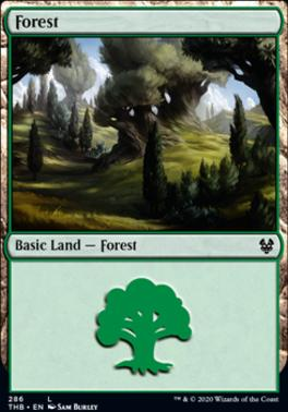 Theros Beyond Death: Forest (286 B)
