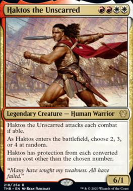 Theros Beyond Death: Haktos the Unscarred