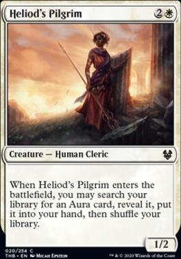 Theros Beyond Death Foil: Heliod's Pilgrim