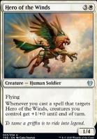 Theros Beyond Death Foil: Hero of the Winds