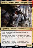 Theros Beyond Death Foil: Kroxa, Titan of Death's Hunger