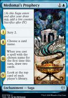 Theros Beyond Death Foil: Medomai's Prophecy