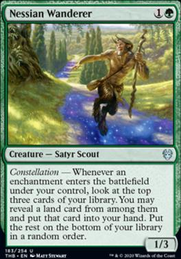 Theros Beyond Death Foil: Nessian Wanderer