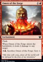 Theros Beyond Death: Omen of the Forge