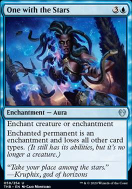Theros Beyond Death Foil: One with the Stars