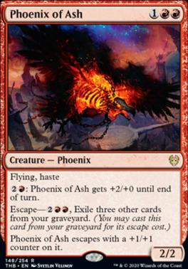 Theros Beyond Death: Phoenix of Ash