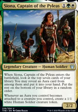 Theros Beyond Death: Siona, Captain of the Pyleas