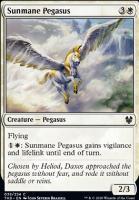 Theros Beyond Death: Sunmane Pegasus