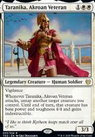 Theros Beyond Death: Taranika, Akroan Veteran