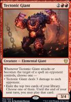 Theros Beyond Death Foil: Tectonic Giant