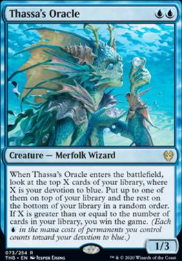 Theros Beyond Death: Thassa's Oracle
