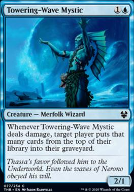 Theros Beyond Death Foil: Towering-Wave Mystic