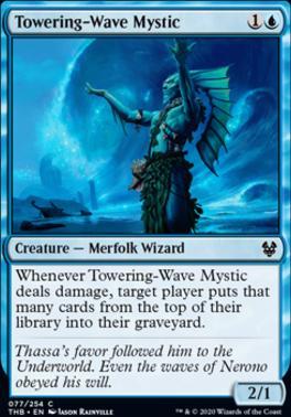 Theros Beyond Death: Towering-Wave Mystic