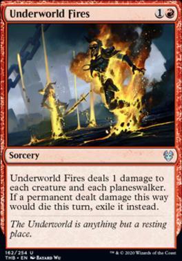 Theros Beyond Death: Underworld Fires