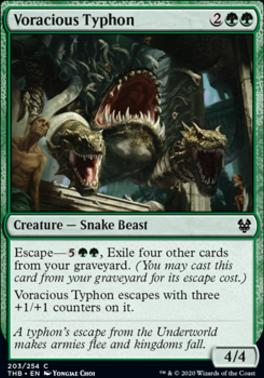 Theros Beyond Death: Voracious Typhon
