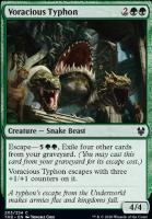 Theros Beyond Death Foil: Voracious Typhon