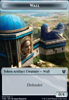 Theros Beyond Death Foil: Wall Token