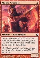 Theros Foil: Akroan Crusader