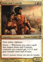 Theros Foil: Anax and Cymede