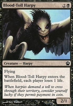 Theros: Blood-Toll Harpy