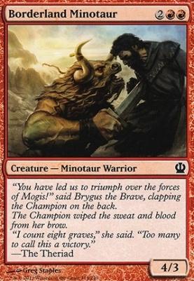 Theros: Borderland Minotaur