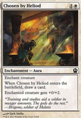 Theros: Chosen by Heliod