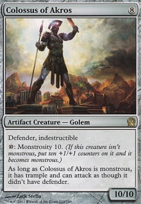 Theros: Colossus of Akros